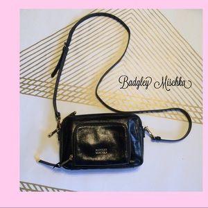 EUC Badgley Mischka Leather Crossbody